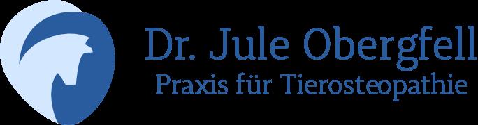 Tierosteopathiepraxis Dr. Jule Obergfell Logo